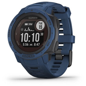 Garmin Instinct Solar GPS Smartwatch, deep blue